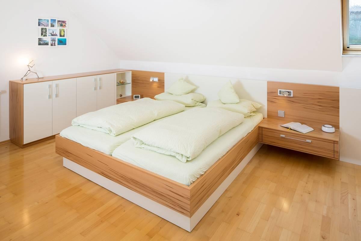 Schlafzimmer – Möbel individuell vom Schreiner