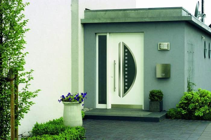 Aluminium Haustür